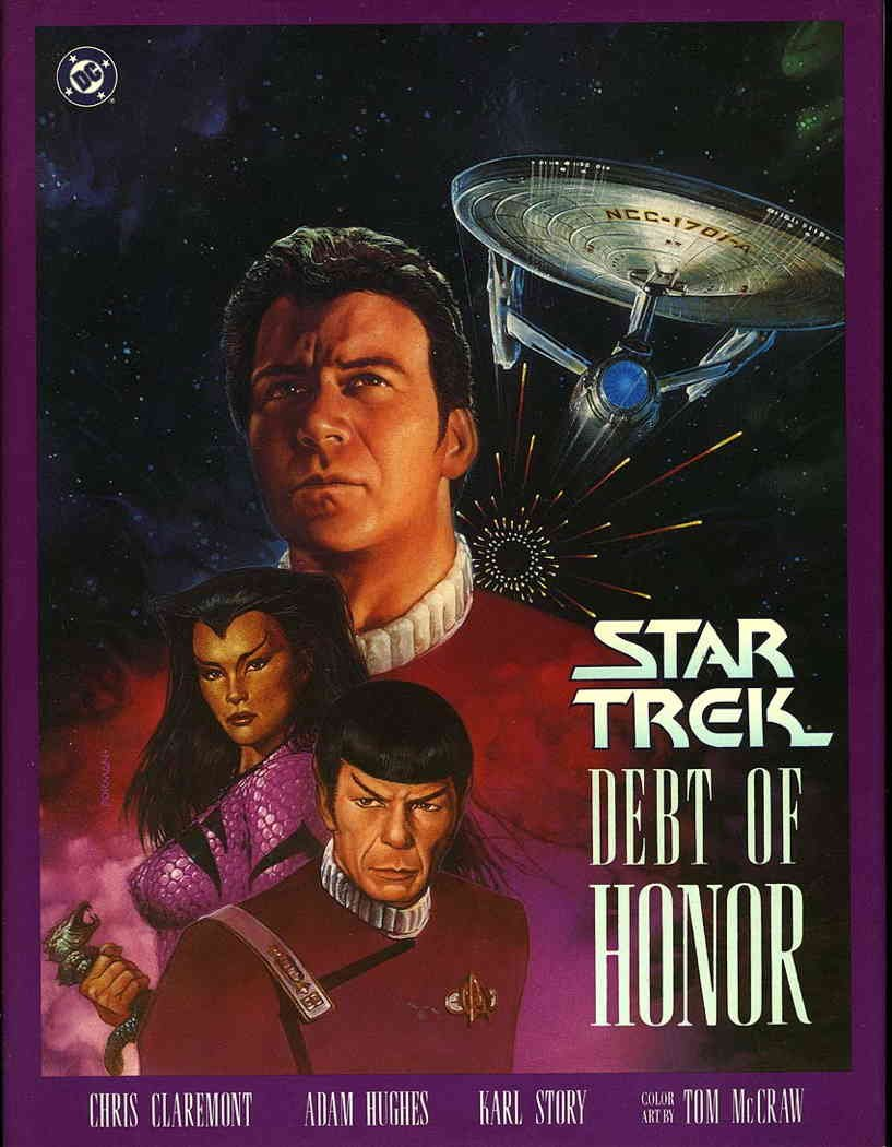 Star Trek: Debt of Honor #HC 1 VF/NM ; DC comic book
