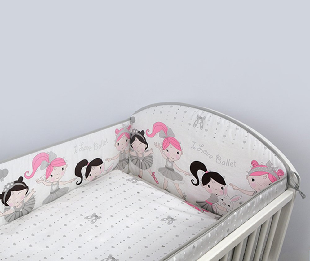 All Round Bumper To Fit Cot Bed 140x70 - Pattern 20 BabyComfort