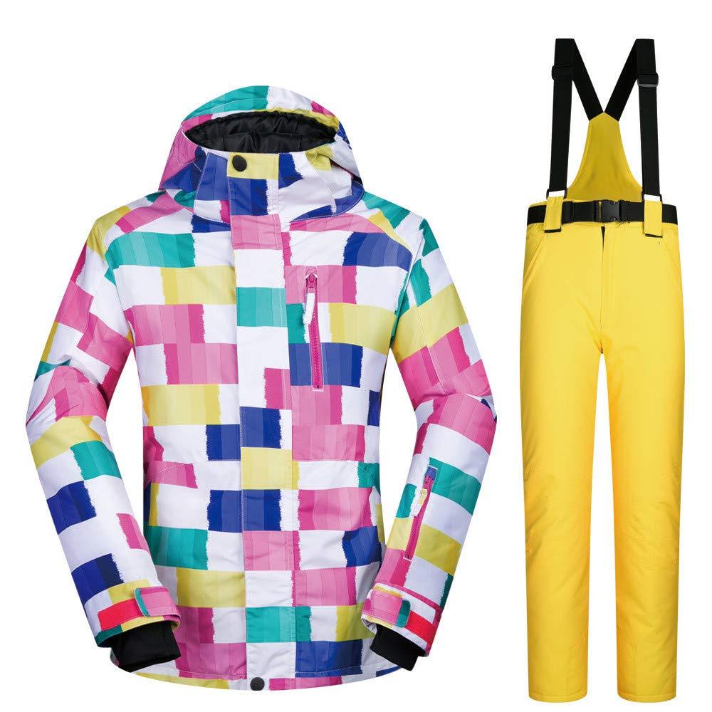 Giacca da Sci da Donna Tuta da Sci Sci Sci Tuta da Donna Outdoor Warm Impermeabile Single Single Ski Suit Impermeabile Antivento (Coloreee   blu Pants, Dimensione   M)B07L6CWMVMLarge giallo Pants | Intelligente e pratico  | prezzo al minuto  | Nuovo Prodotto   eca287