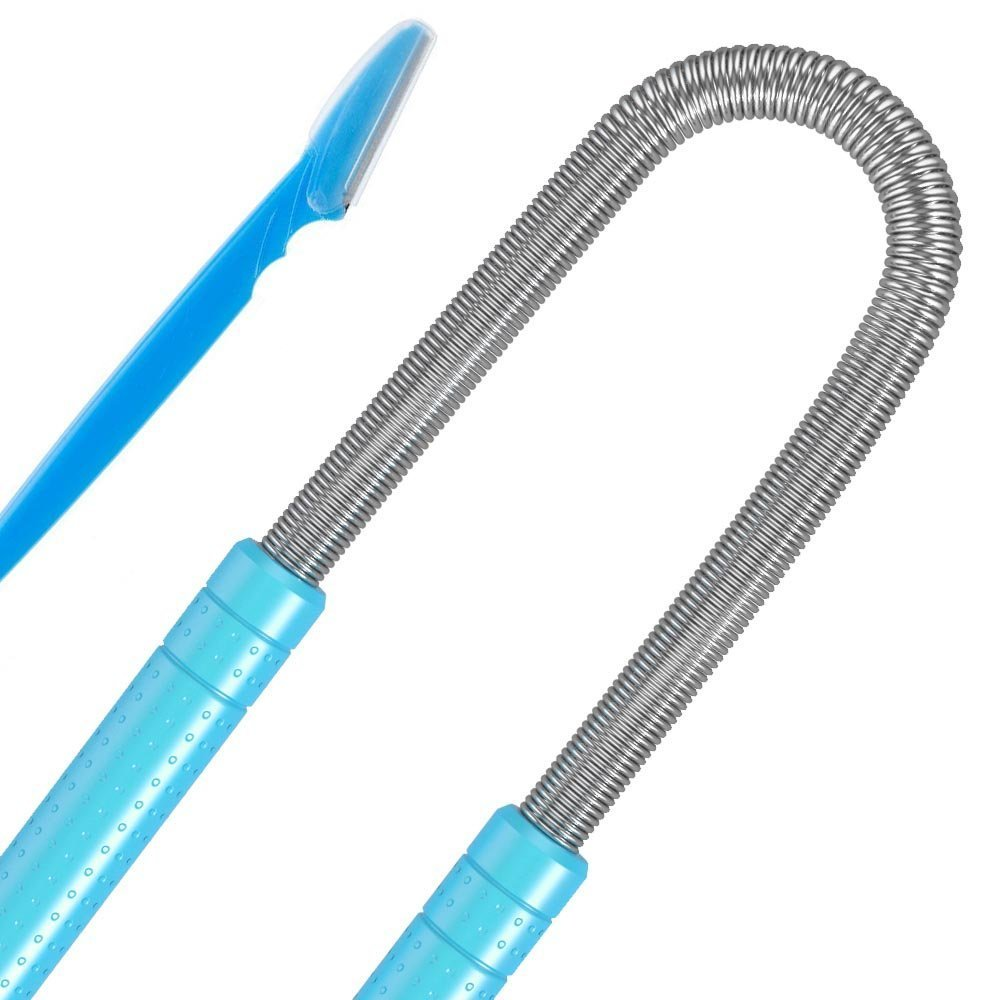 Facial Hair Remover Threading Tool - Quick Effective Facial Hair Removal with No Messy Waxes, Less Pain and Less Irritation - Smooth, Long-lasting Results. Guaranteed! (1)