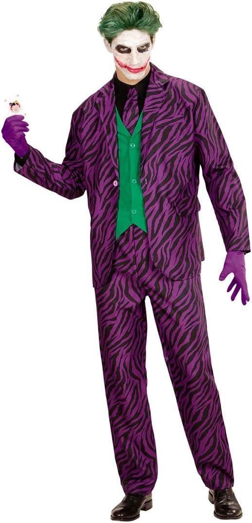 Traje Adulto Malvado - S (ES 48) | Disfraz Hombre Joker Malo ...