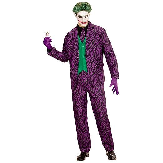 NET TOYS Disfraz Hombre Joker Malo - M (ES 50)   Traje ...