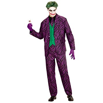 NET TOYS Disfraz Hombre Joker Malo - XL (ES 54) | Traje ...
