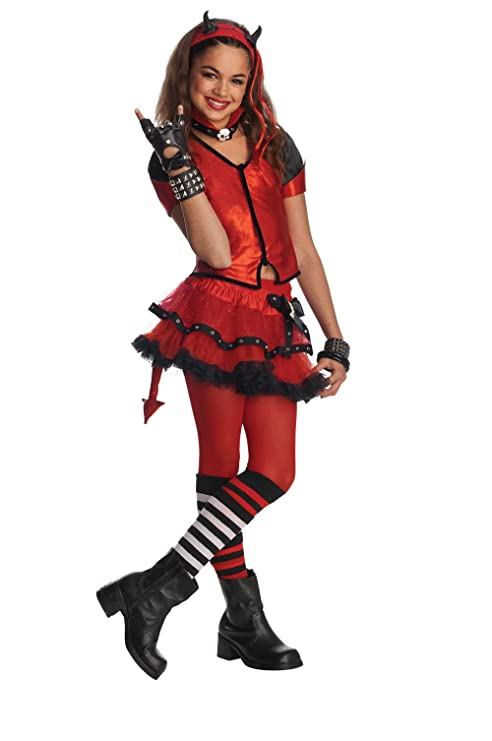 rubies drama queens child devilish costume ages 8 to