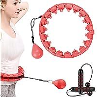 Kaiyingxin Hula Hoop Professionele fitness intelligente massage met massagekussen en 24 beweegbare delen, verstelbare…