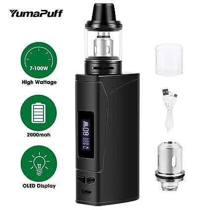 Cigarrillo electrónico Vaping Kit E-Cig Vapor E Cig Mod Kit YumaPuff Armor 100W Box
