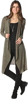 product image for Majamas Maglione Sweater - ECO Friendly Women's Lightweight Long Sleeve Open Front Duster Sweater - Made in The USA