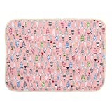 Multifit Cute Cartoon Changing Mat Breathable Waterproof Underpads Mattress Pad Sheet Protector(Fish)