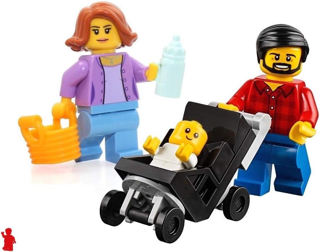 60234 lego city ville personnes Pack-Fun Fair Set avec 14 Mini Figurines 183 pieces