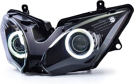 Amazon.com: KT - Conjunto de faros delanteros LED para ...