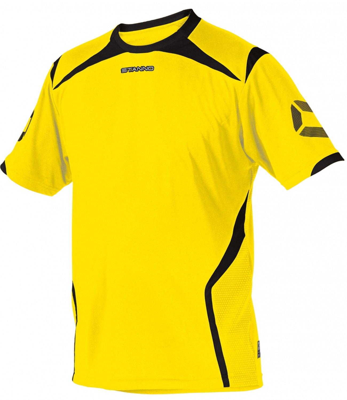 TALLA 3XL. Stanno Torino K.A.–Camiseta Anthracite de Neon Yellow