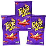 takis seasoning - Takis Fuego Family Size Party Pack -- 29.7 Ounces Total (3 Bags, 9.9 Ounces Each) (Family Party Pack -- 29.7 Ounces)
