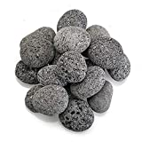 Cheap American Fireglass Gray Lava Stone (LAVAST-M-10), Medium, 1-Inch to 2-Inch Pieces