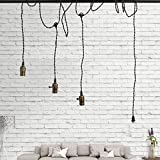 Rustic Triple Socket Pendant Hanging Light Cord Kit Plug-in Lighting Deal (Small Image)