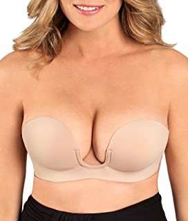 8061eea9fc5de Fashion Forms Women s Voluptuous Silicone Lift Bra at Amazon Women s ...