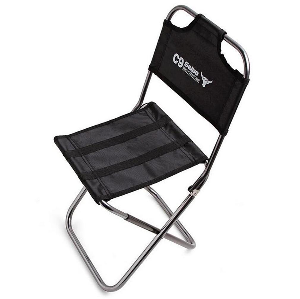 ZHDNG Klappstuhl im Freien Moon Chair Angeln Camping Portable zusammenklappbar