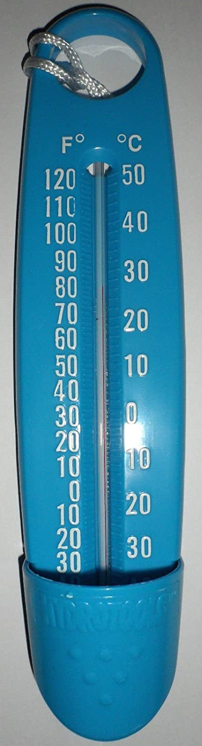 Blue Hydrotools Swimming Pool Thermometer / Spa / Hot Tub 9