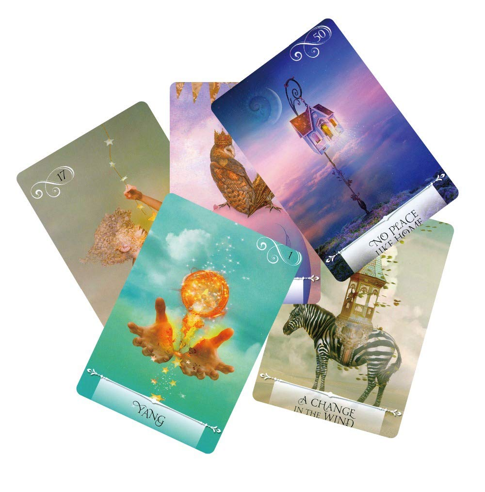 Autumn Water Newest Knowledge Oracle Cards 52 Wisdom Tarot Cards Guidance English Mysterious Fortune Card Game for Girls by Autumn Water (Image #3)