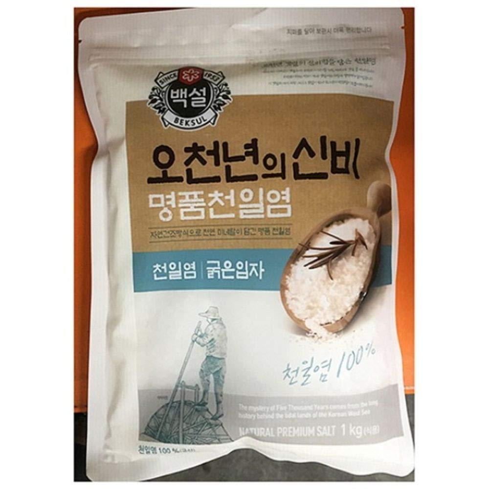 Beksul Korean Sea Salt Coarse 1kg