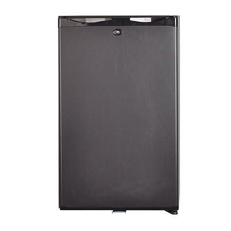 amazon com smad 12v 110v portable single door mini fridge with lock