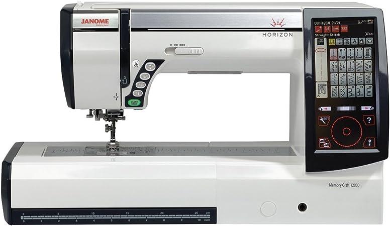 Janome Horizon Memory Craft 12000 - Máquina de coser y bordar ...