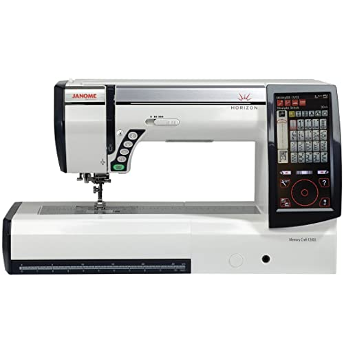 Janome Horizon Memory 12000 Embroidery and Sewing Machine
