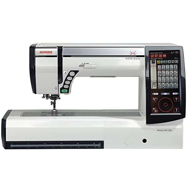Best Embroidery Sewing Machine For Professionals: Janome 12000 Review