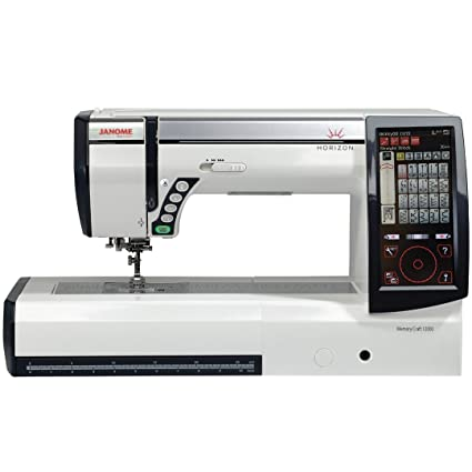 Amazon Janome Horizon Memory Craft 12000 Embroidery And Sewing