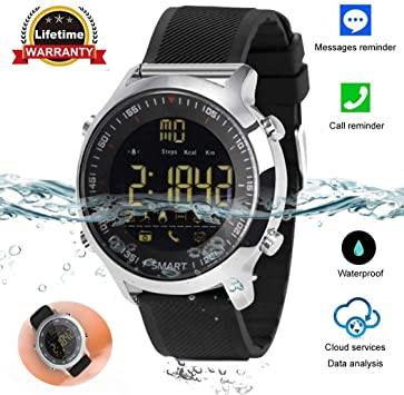 Bluetooth Smart Watch Waterproof Smartwatch Sports Smart Watches for Men Women Boys Kids Gifts Compatible with Android IOS iPhone Samsung Huawei LG ...