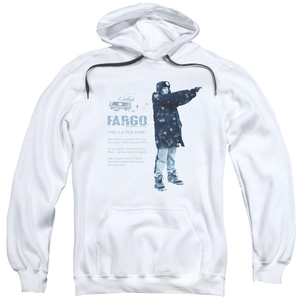 Blanc X-grand Fargo - Sweat-shirt à capuche - Homme