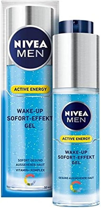 Nivea Men despertador Gel efecto instantáneo Energía Activa, 1er ...