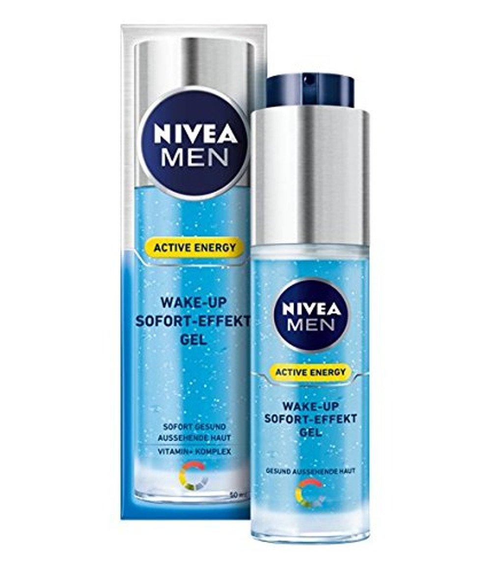 Nivea Men Active Energy Wake Up Sofort-Effekt Gel, 1er Pack (1 x 50 ml) 81723