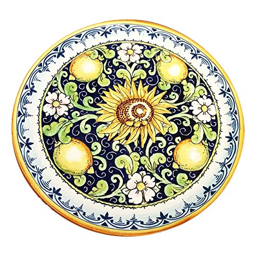 CERAMICHE D'ARTE PARRINI - Italian Ceramic Art Pottery Plate Dish Hand Painted Made in ITALY Tuscan ()