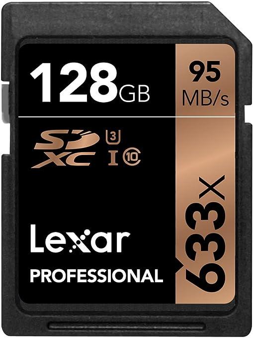 622 opinioni per Lexar Professional LSD128CBEU633 Scheda di Memoria SDXC 633x da 128 GB