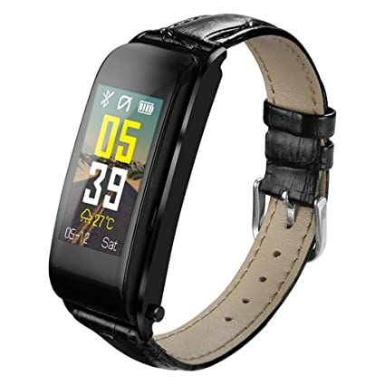 VERYMIN Reloj Inteligente 2 en 1 Smart Watch Bluetooth ...