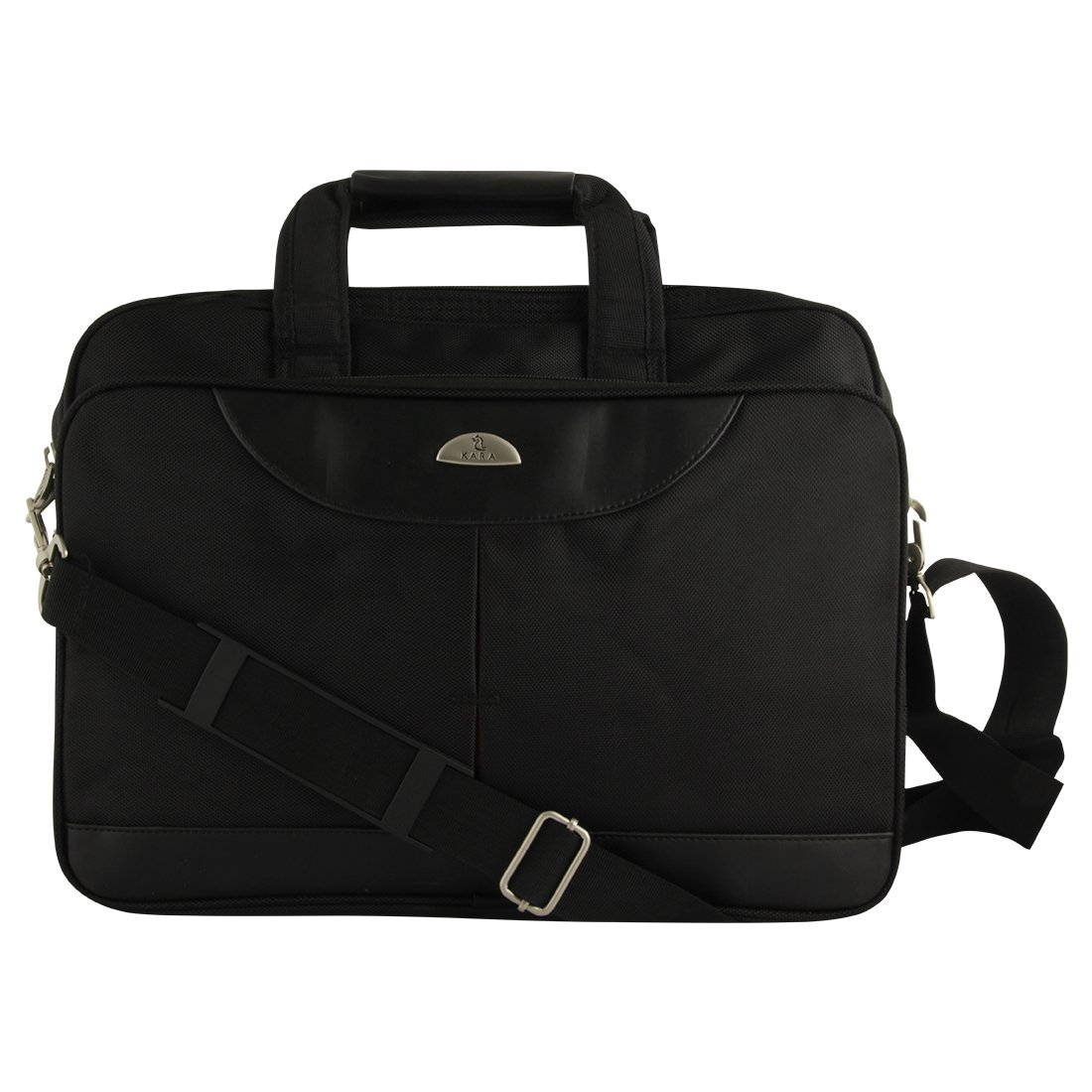 0aa0cce932 Kara Black Color Unisex Laptop Bag  Amazon.in  Bags