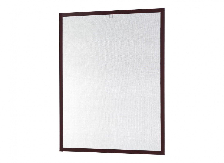 Insektenschutz Fliegengitter Fenster Alurahmen Master Slim Zuschnitt weiß , braun oder anthrazit in verschiedenen Grö ß en empasa