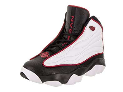 daac81b4c3d4b Amazon.com | Jordan 407484-005: Pro Strong Big Kid White/Black/Red ...