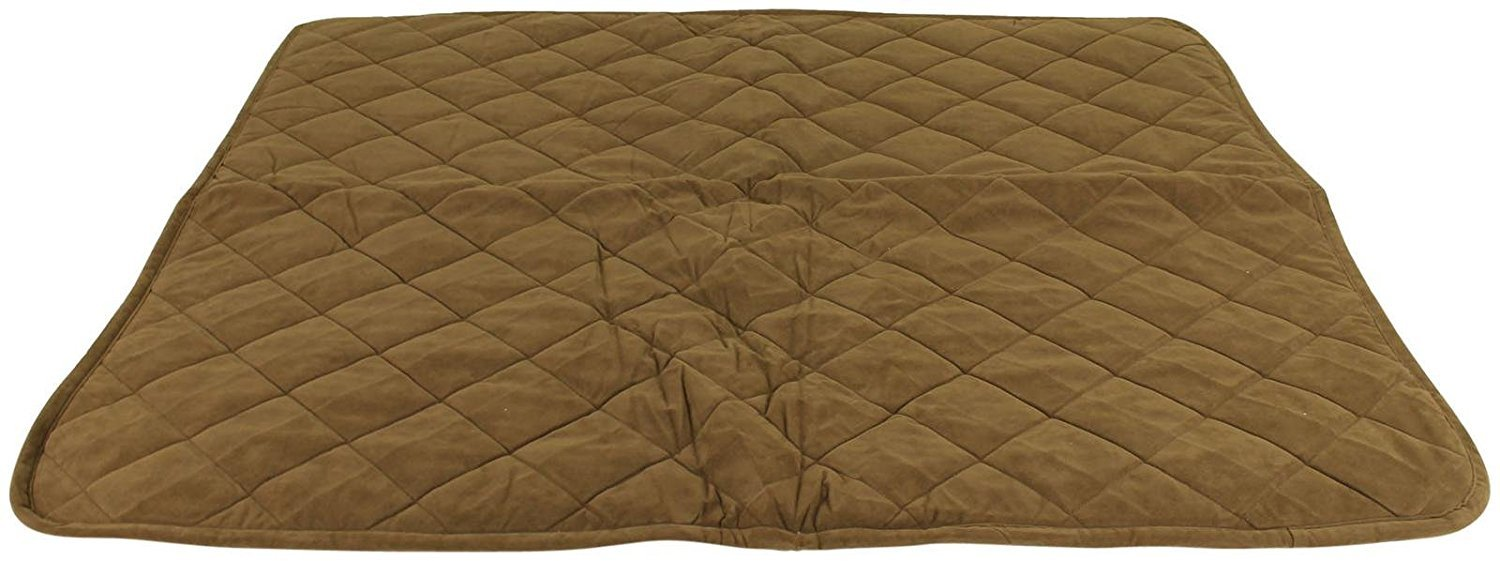 Cpc Reversible Sherpa/Quilted Microfiber Throw for Pets, 48-Inch, Chocolate by Cpc