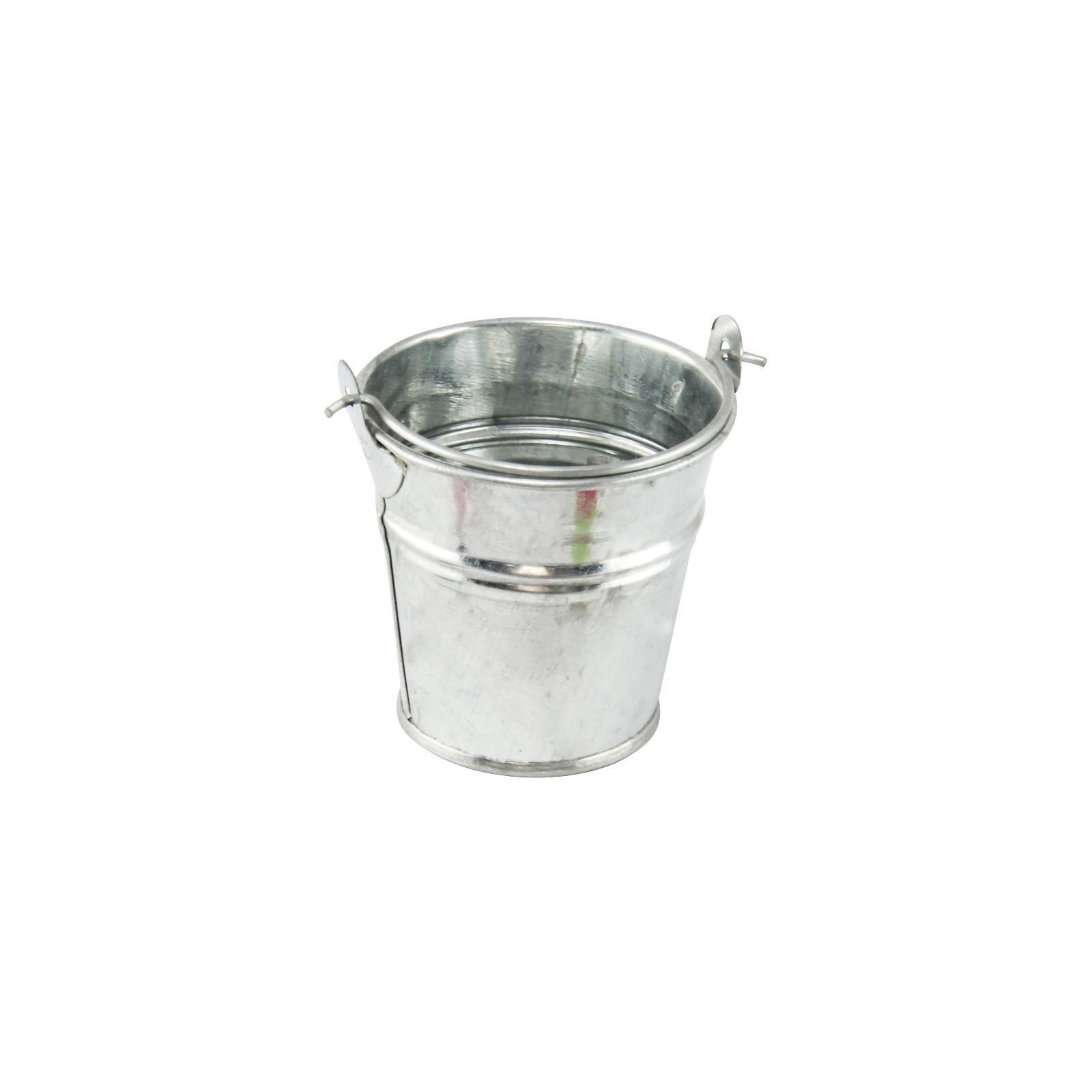Homes on Trend Sets of Small Mini Metal Buckets Party Wedding Favour Crafts Storage H5.5cms