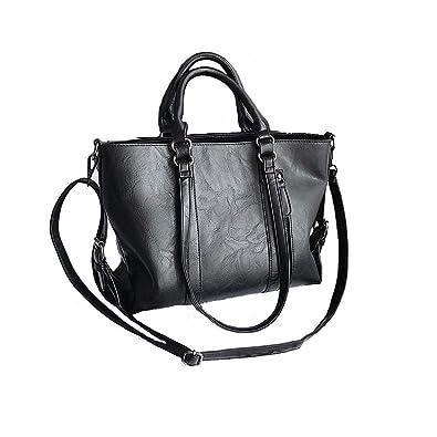 9c7cb261e825 Tote Bags for Women Designer PU Leather Large Capacity Classic Ladies Tote  Handbags Cross Body Shoulder