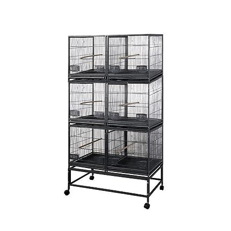 Amazon.com: A & E Jaulas 6 Unidad Criador Jaula para Pájaros ...