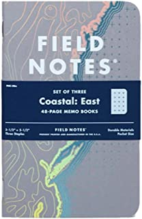 product image for Field Notes Coastal: East Special Edition Recital Grid Memo Books, 3-Pack (3.5x5.5-Inch) Spring 2018