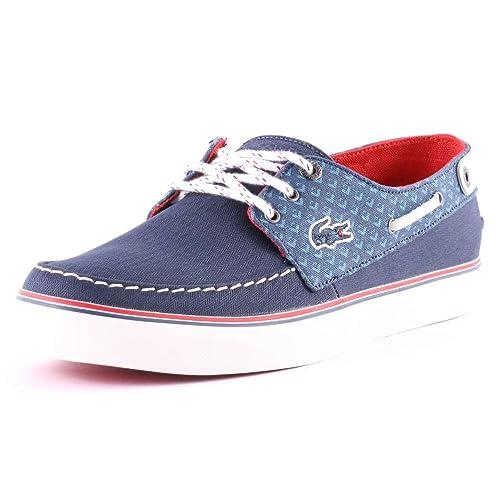 Lacoste Sumac 9 Hombre Boat Shoes, Color Azul, Talla 40.5 EU: Amazon.es: Zapatos y complementos
