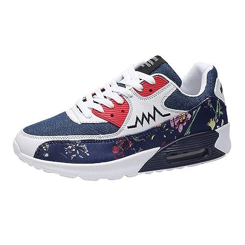 Zapatos Hombre Black Friday Casuales Invierno Cupón Vouchers Casual Hombre con Cordones de Tela de Deporte Red de Calzado Resistente al Desgaste Ligero ...
