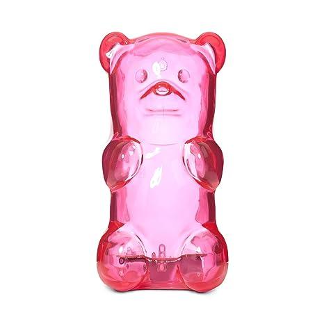 amazon com gummygoods squeezable gummy bear night light portable