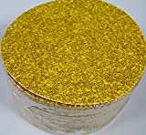 50pc 6'' PSA Stick ON Sandpaper DISC 36 GRIT A/O GoldLine Made in USA inch P36E