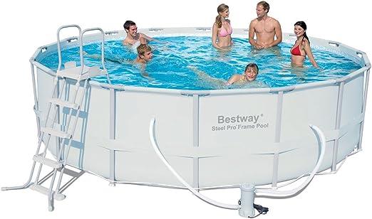 Bestway - Piscina Steel Pro 488 x 122 cm + depuradora Arena ...