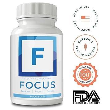 Amazon Com Focus And Memory Nootropics Supplement Neuro Boost