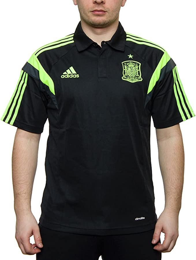 Polo Selección Española -Negro- 2014: Amazon.es: Deportes y aire libre